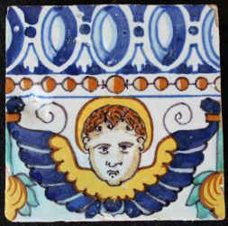 Majolica tile from Triana