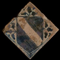 Small tile with coat of arms